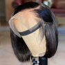 200% Density 13x4 Lace Frontal Graceful Short Bob Straight Lace Wigs